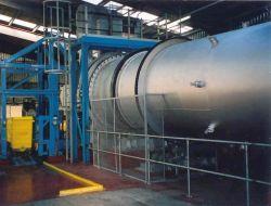 Incinérateur de déchets industriel