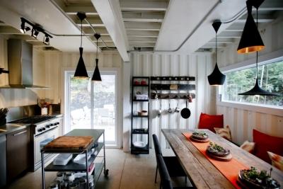 Cuisine maison container indépendante