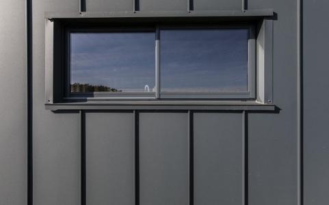 Isolation extérieure maison container