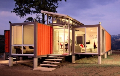Maison container open top