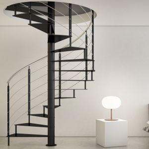 pose escalier hélicoïdal spiral en colimaçon