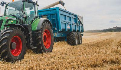 Remorque benne agricole