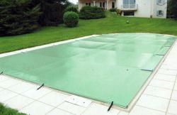 Bâche de sécurité pour piscine hors sol