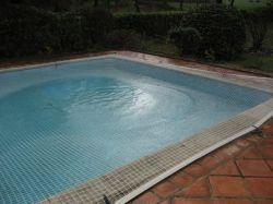 Bâche filet pour piscine