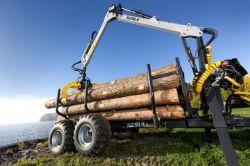 Remorque forestière Kesla