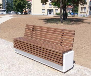 Mobilier urbain banc