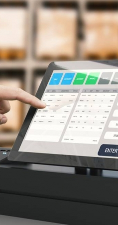 Combien coûte une caisse enregistreuse tactile?