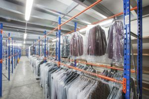 Rayonnage vêtements
