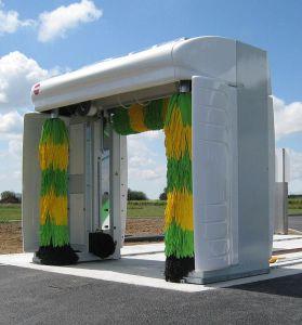 Portique de lavage pour station
