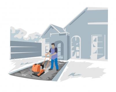 Utilisation plaque Vibrante pour usage domestique