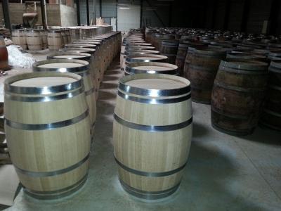 Tonneau ou barrique en bois