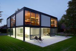 maison ossature en métal
