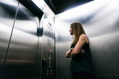 Ascenseur Classique Cabine Porte