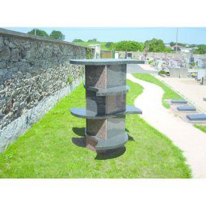 Le columbarium en cases individuelles