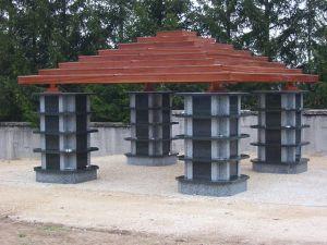 Le columbarium tonnelle