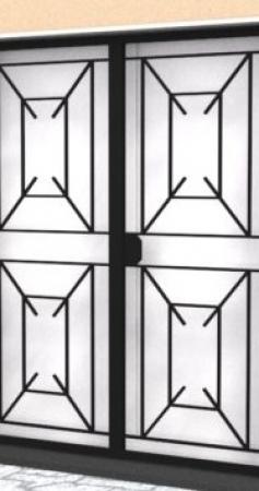 Combien coûte une grille de protection d'entrée ?