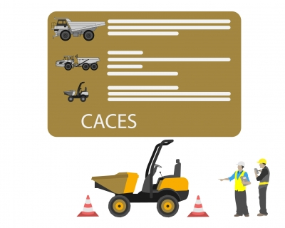 CACES R482 Catégorie E dumper
