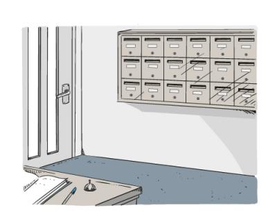Boites aux lettres collectives