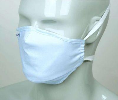 Masque de protection en tissu réutilisable