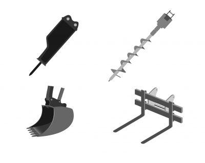 Les différents équipements adaptables à une tracto