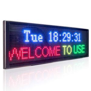 Panneau d'affichage led couleur
