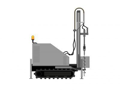 Foreuse mécanique mobile