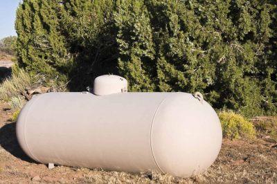 Citerne gaz aérienne