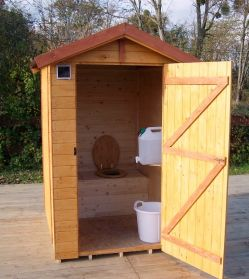 Sanitaire mobile sèche