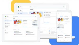 Outil collaboratif Google drive