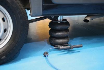 Cric pneumatique 3 coussin pneu échappement