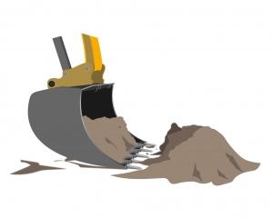 Utilisation Godet d'excavation