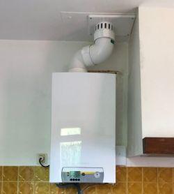 Chaudière à gaz à condensation murale