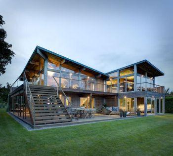 Maison individuelle ossature métal
