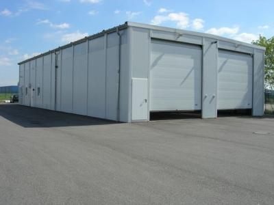 Construction métallique hangar entrepôt stockage