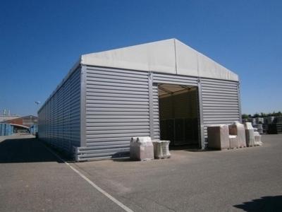 Entrepôt modulaire stockage panneaux sandwich