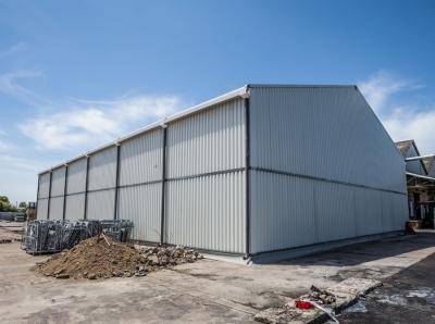 Hangar de stockage