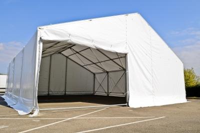 Tente stockage fermée structure démontable