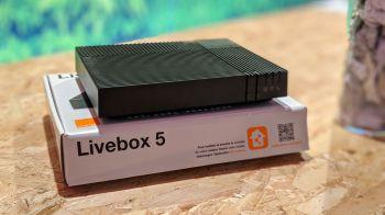 orange-livebox 5 internet