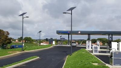 Éclairage public énergie solaire
