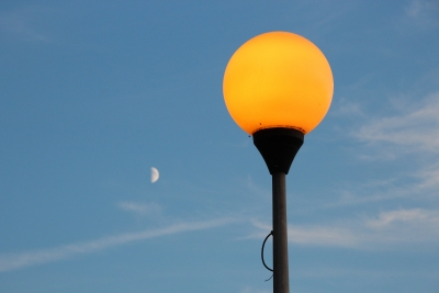 Lampadaire éclairage public lampadaire mât