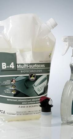 Combien coûte un nettoyant multi-surfaces ?