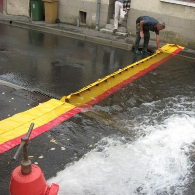 Inondation Barrière Batardeau Membranaire