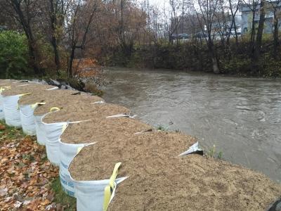 Sac remplir Sable Inondation protection