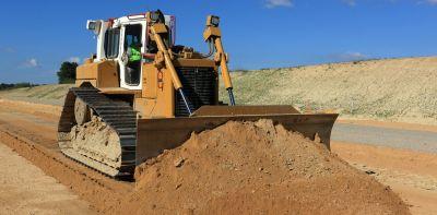 Bulldozer Terrassement