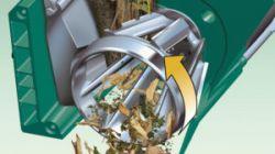 Broyeur de végétaux à turbine