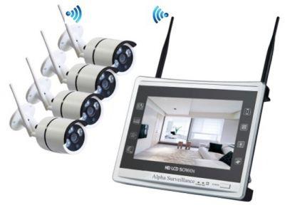 Ensemble kit caméra pour vidéosurveillance