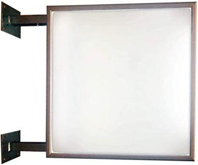 Enseigne drapeau LED