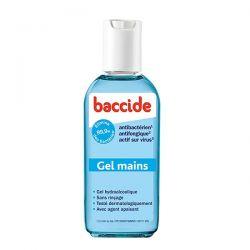 Gel hydroalcoolique baccide 30 ml