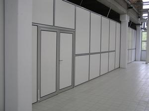 cloisons industrielles bureau portes industrielles