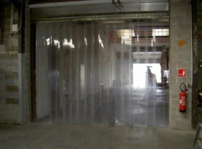 portes à lanières  portes industrielles